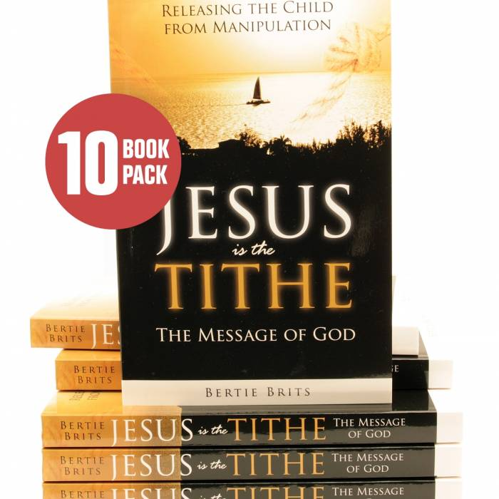Buy Dynamic Love Ministries Items: [ Jesus is the Tithe ( 10 Pack ) ]