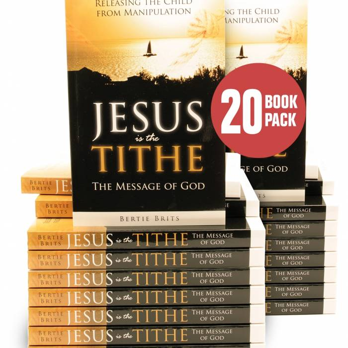 Jesus is the Tithe ( 20 Pack ) | Dynamic Love Ministries Product Image